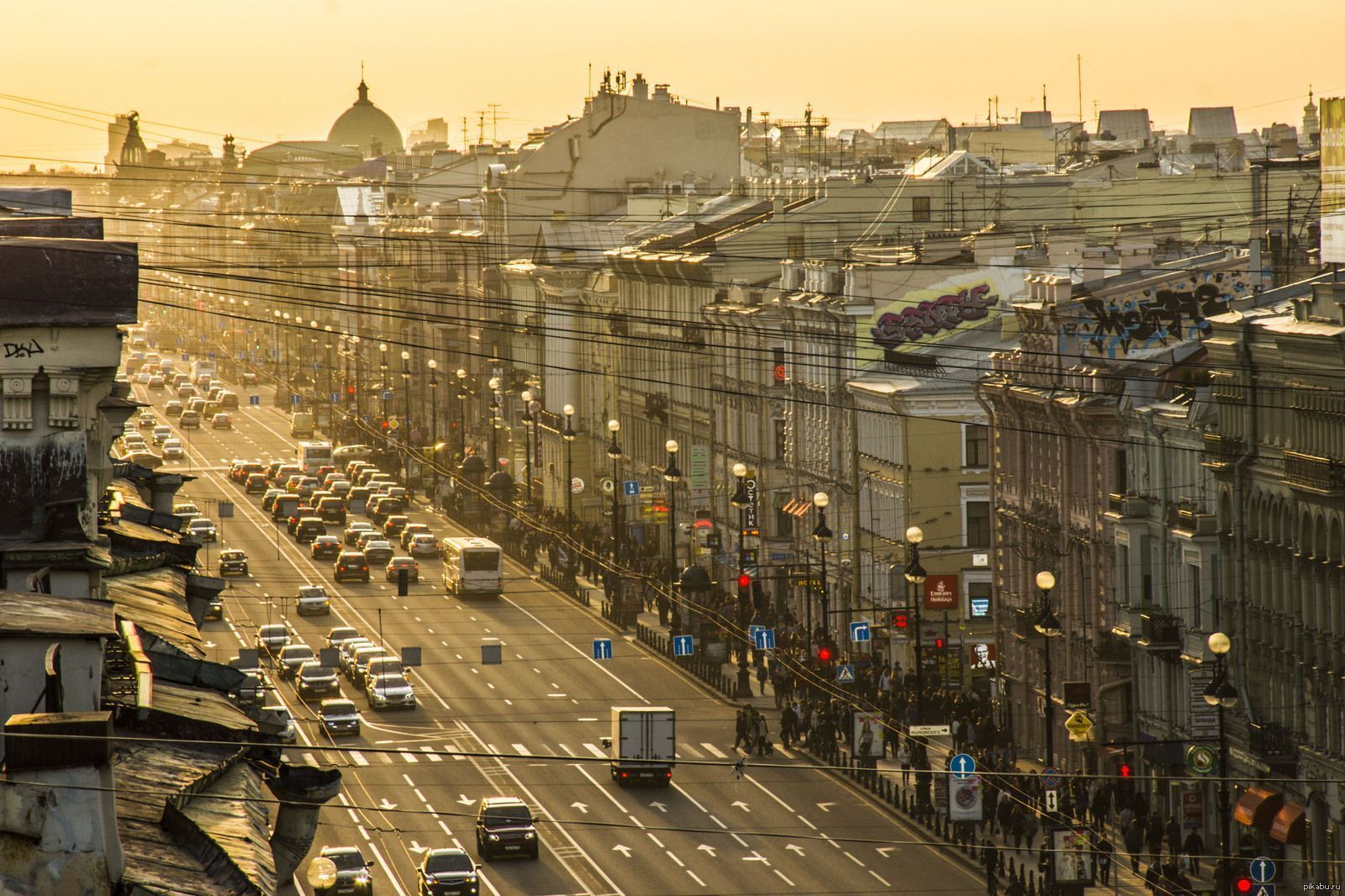 Just walking distance from Nevsky Prospekt